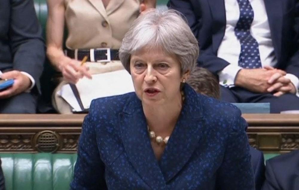 Embattled- Theresa May