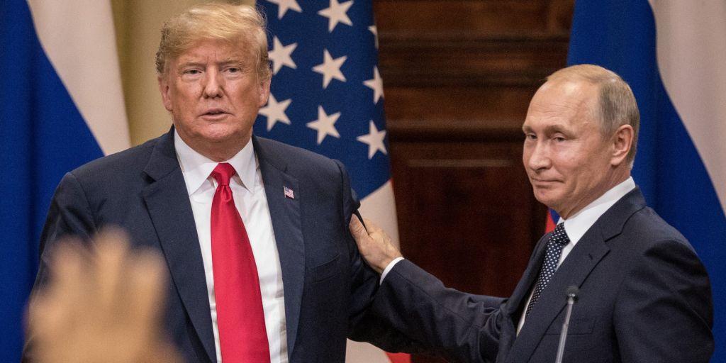 President Donald Trump and Russian President Vladimir Putin.       Chris McGrath  Getty Images