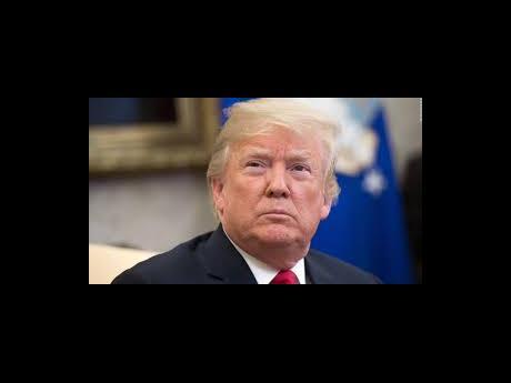 Video Pause US President Donald Trump